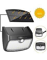 Luz Solar Exterior, SGODDE Lámpara Solar Separada Sensor de Movimiento, Lámpara de Jardín Solar 48 LED Lámpara de Pared Solar Exterior 700LM, Impermeable IP65
