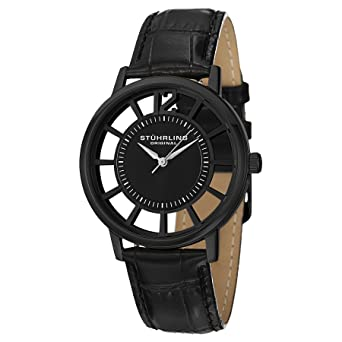 Stuhrling Original Classic Analog Black Dial Men's Watch - 388S.33551 Men's Watches at amazon