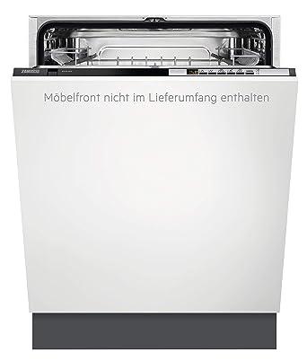 Zanussi ZDT26040FA Totalmente integrado 13cubiertos A+++ lavavajilla - Lavavajillas (Totalmente integrado, Blanco, Tamaño completo (60 cm), Negro, ...