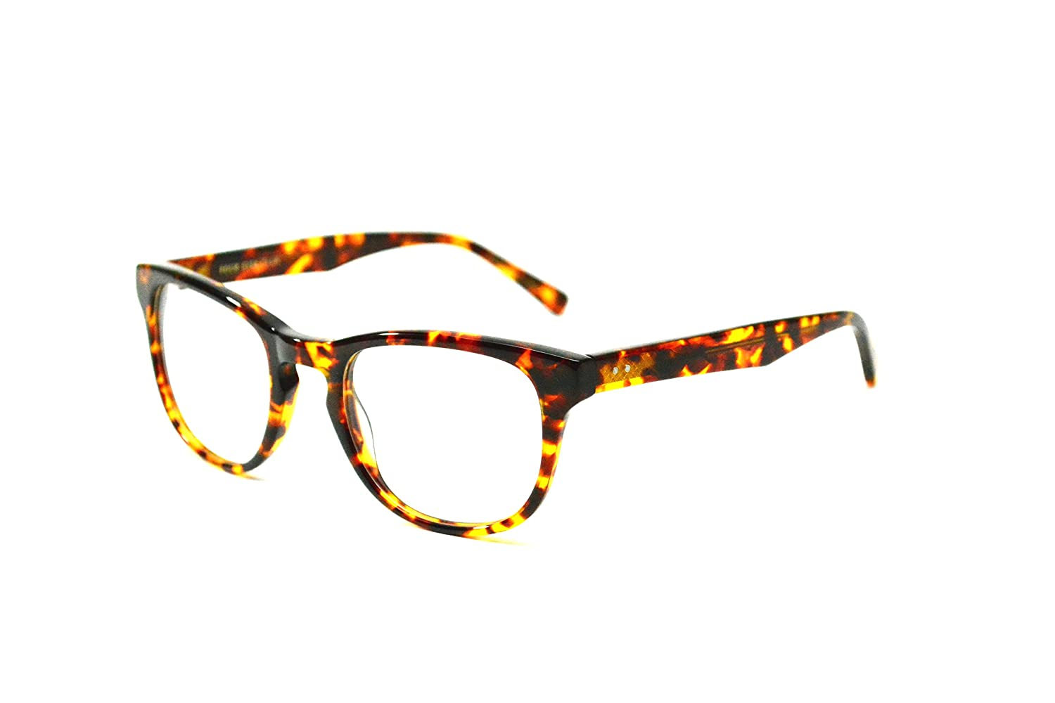 41abb486c87 Four Eyes Club Capella TOTB Wayfarer eyeglasses (Woody Tortoise ...