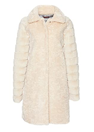 Frieda Wollweiß Fur Freddies Damen Mantel In Fake Größe amp; 40;farbe 77xqZBr