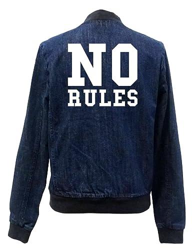 No Rules Bomber Chaqueta Girls Jeans Certified Freak