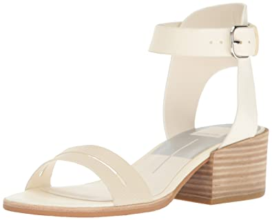 69b1e1771ea Dolce Vita Women s Rae Heeled Sandal Off White Leather 6 ...