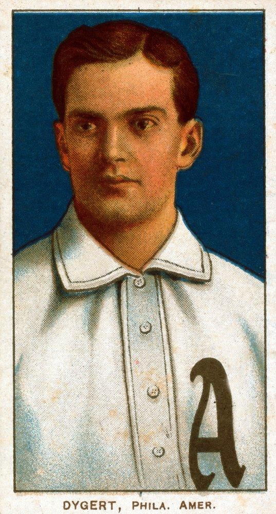 Philadelphia Athletics – Jimmy Dygert – 野球カード( 16 x 24 Gicleeギャラリー、壁用旅行ポスター)   B017ZEWY4S