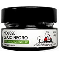 Mousse de ajo negro ecológico español (dos botes