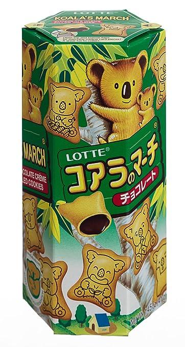 Chocolate-filled Koala Crackers