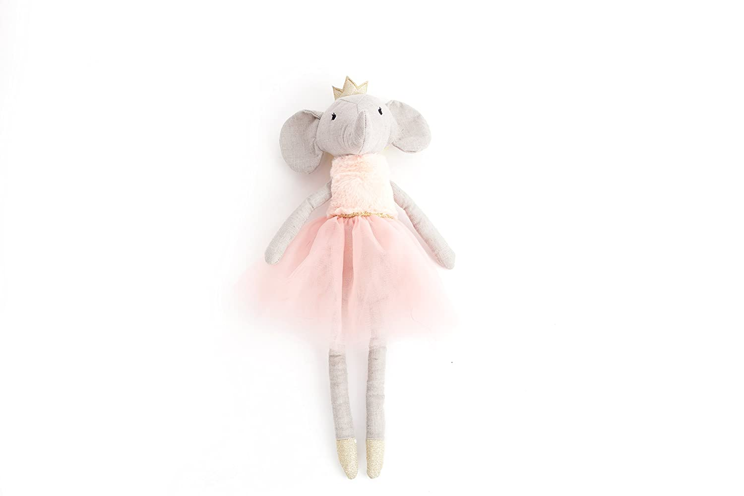 Plush Toy Pink 12 Stuffed Toy MON AMI Designer Plush Pony