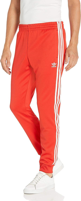 adidas Originals Superstar - Pantalones para hombre - rojo ...