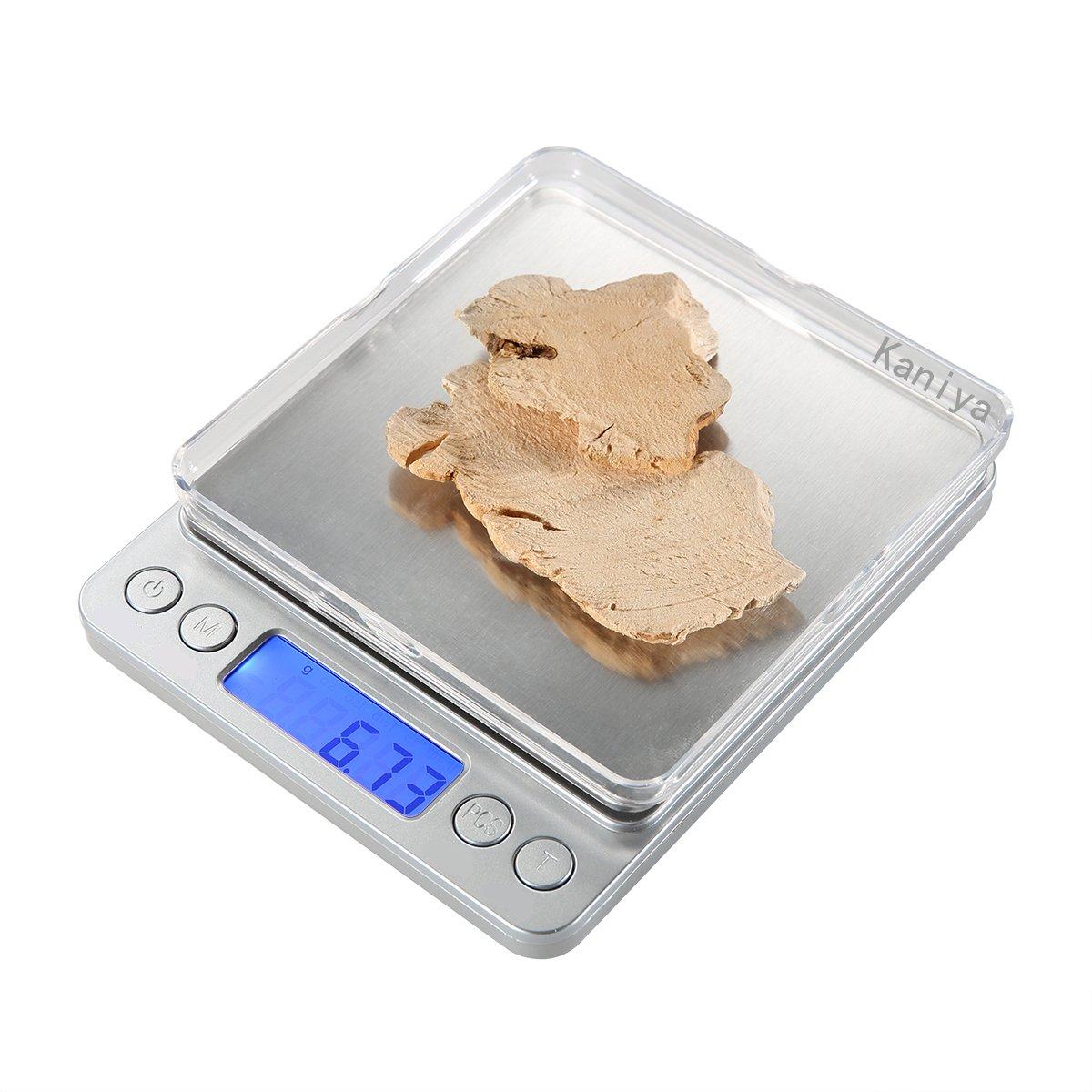 mastore 500 G Pro bolsillo cocina y laboratorio de joyas escala, peso Digital de alta precisión con pantalla LCD retroiluminada 0.001oz/0.01gresolution ...
