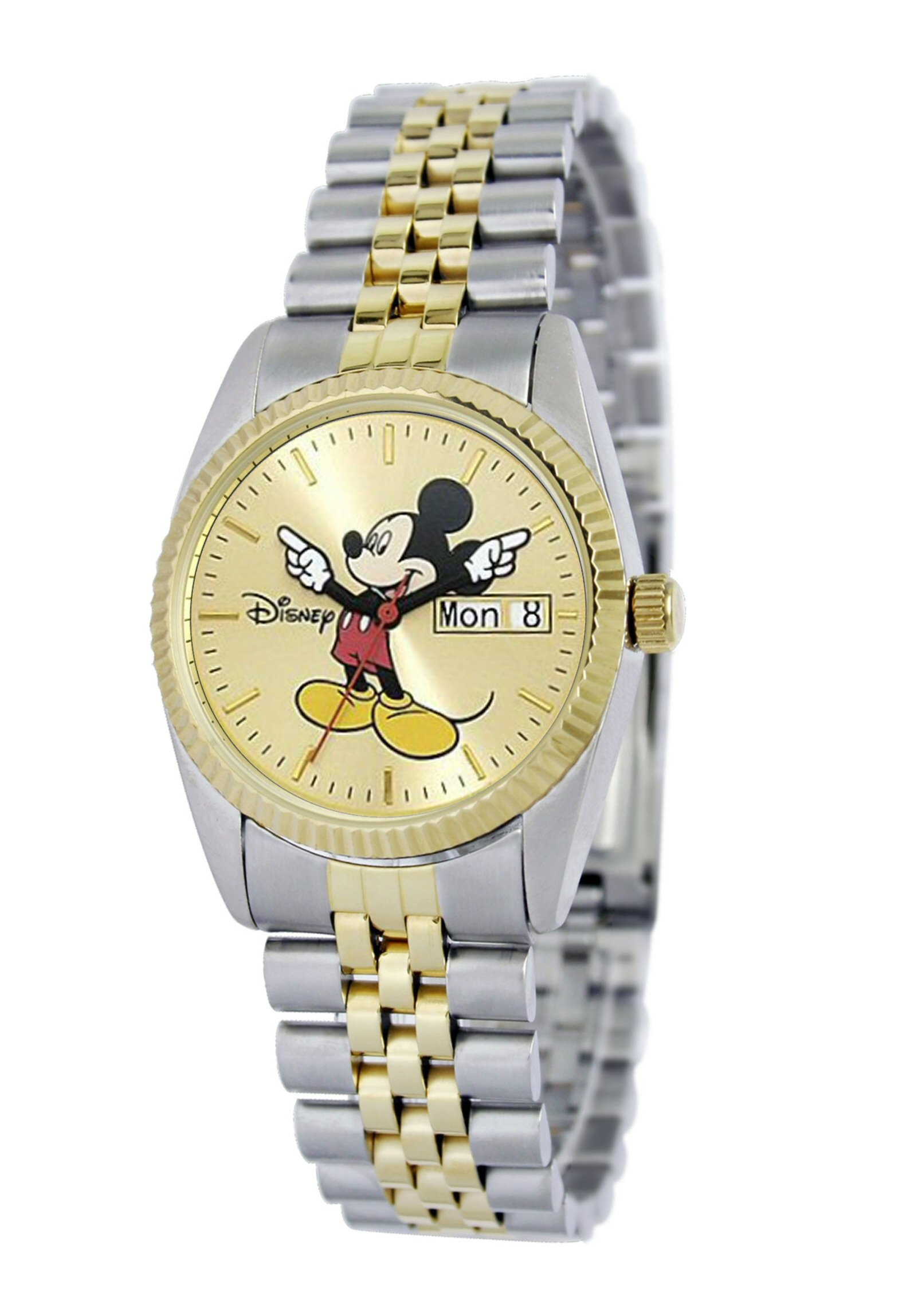 Disney Men's MM0060 Two-Tone Mickey Mouse Watch with Day and Date Movement by Ewatchfactory (Image #2)
