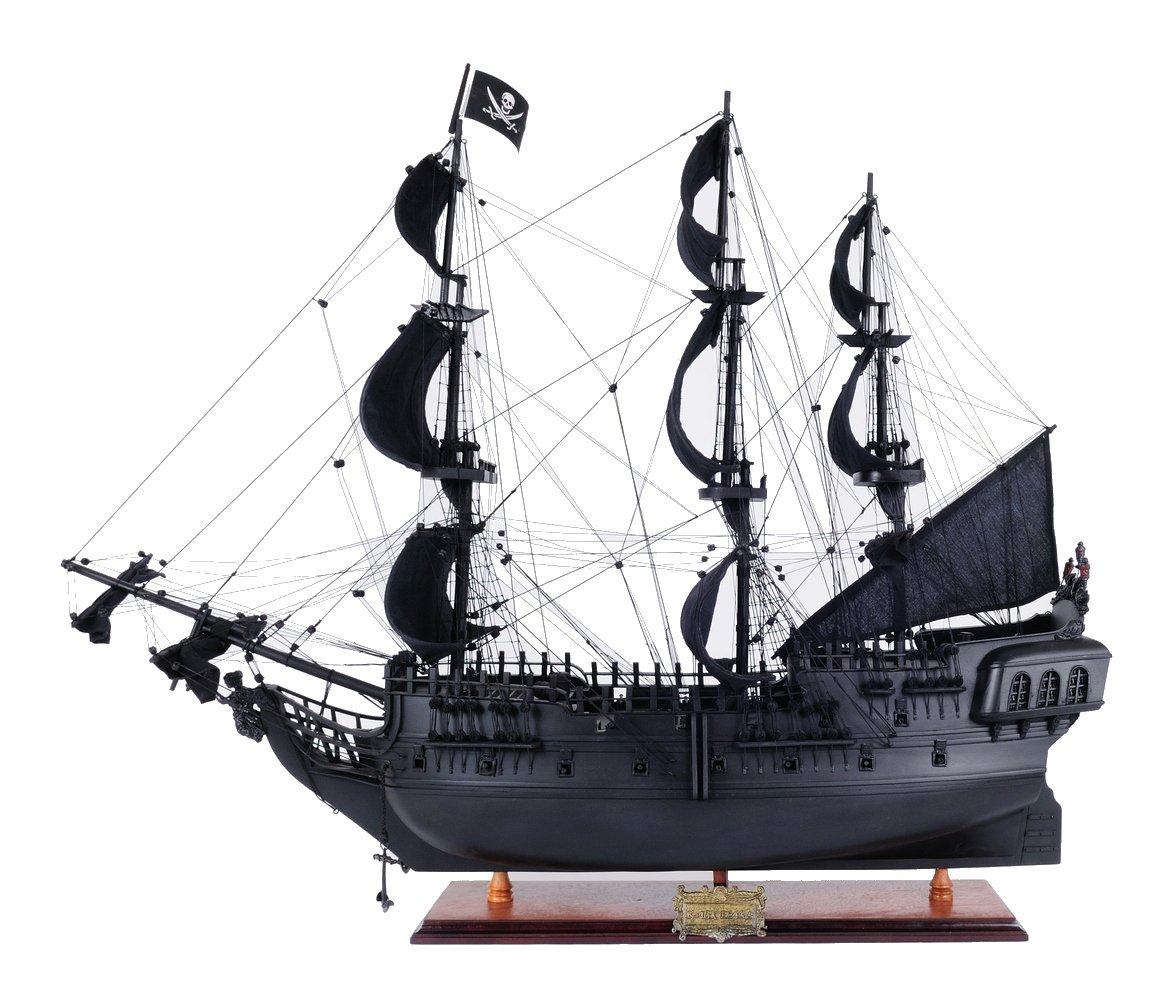 Old Modern Handicrafts Pearl Pirate Ship, Medium, Black by Old Modern Handicrafts (Image #1)