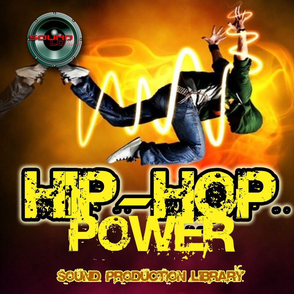 Hip Hop POWER - Unique original Multi-Layer Studio Wave Samples Library 4.2GB on DVD