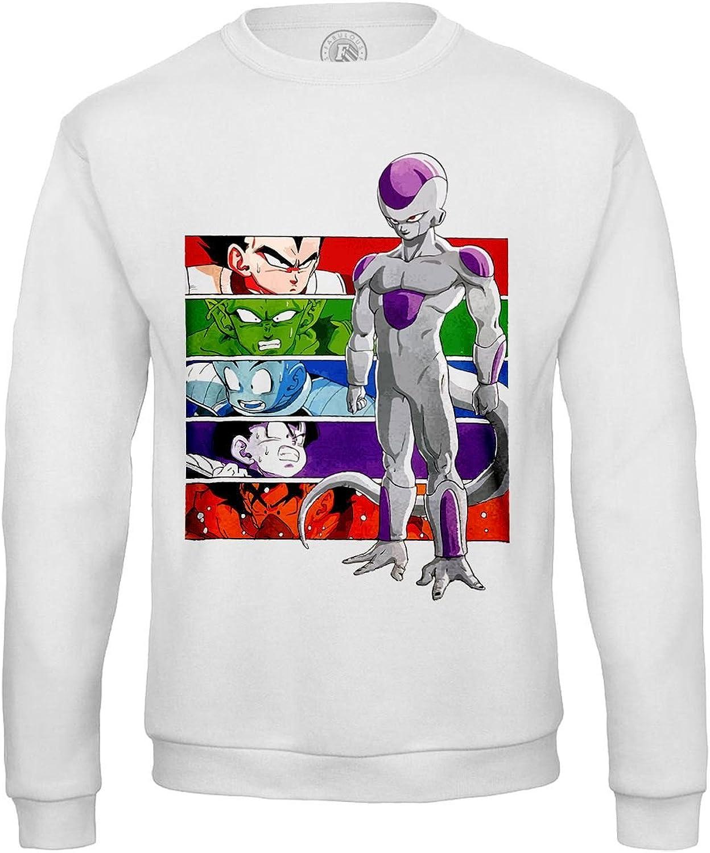 Fabulous Sweat-Shirt Homme Dragon Ball z Bataille Contre Freezer Namek Goku goha Vegeta Piccolo