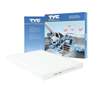 TYC 800126P Nissan Replacement Cabin Air Filter: Automotive
