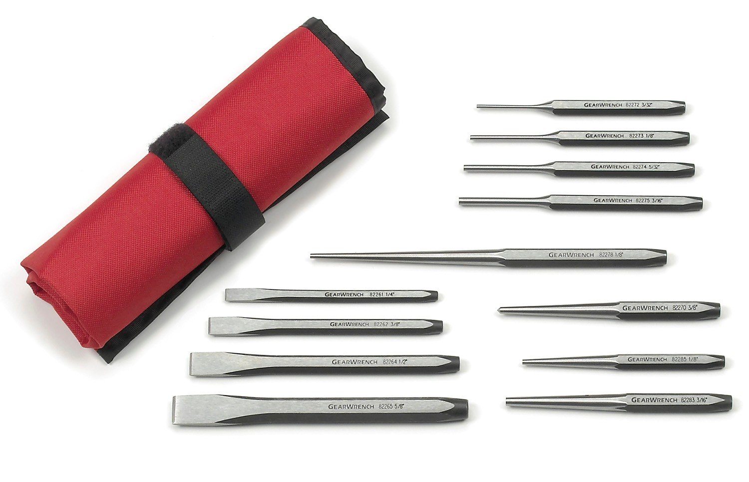 GearWrench 82305 12 Pc. Punch and Chisel Set by GearWrench
