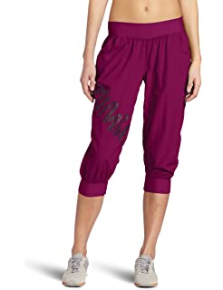 Amazon.com : Zumba Fitness Women's Ultimate Orbit Cargo Capri ...