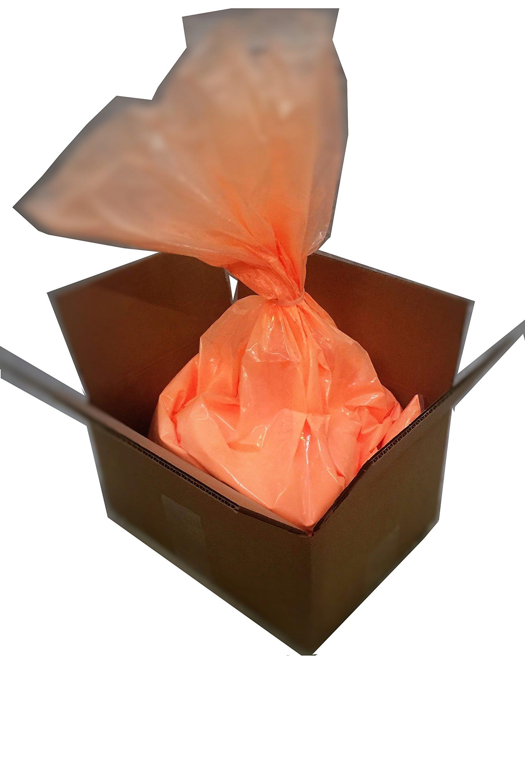 Holi Color Powder   Celebration Powder   Neon/Afterdark Orange   Bulk 25 lbs.