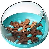 RedLemon Plato para Perro de Alimentación Lenta Antiderrames (1.2 Kgs), Comedero para Razas Pequeñas, Medianas y Grandes…