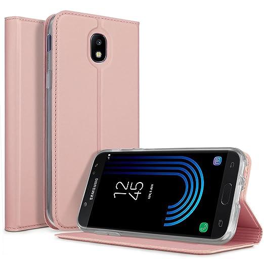 2 opinioni per Samsung Galaxy J3 2017 Cover- KuGi Slim Flip Cover Custodia per Samsung Galaxy