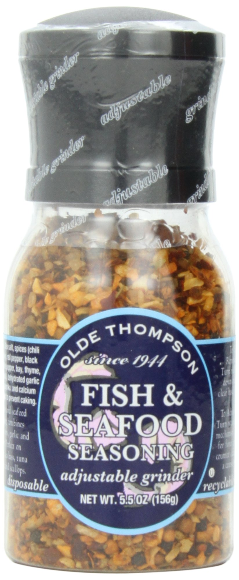 Olde Thompson Fish & Seafood Blend, 5.5-Ounce Grinders (Pack of 2) by Olde Thompson
