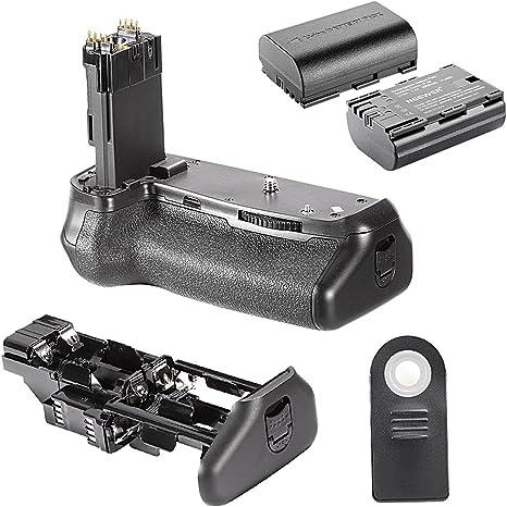 Neewer BG-70D - Empuñadura de batería para cámara réflex Digital ...