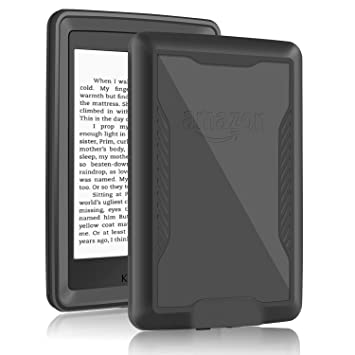 iThrough Kindle Paperwhite Case, Paperwhite Waterproof Underwater E-Reader  Case, Dustproof, Snowproof, Shockproof Full Sealed Protection Case with