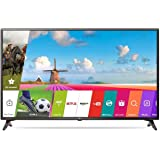 LG 108 cm (43 inches) 43LJ554T Full HD LED Smart (Ceramic Black)