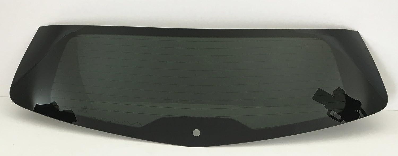 TYG Fits 2009-2017 Chevrolet Traverse Rear Window Back Glass Heated