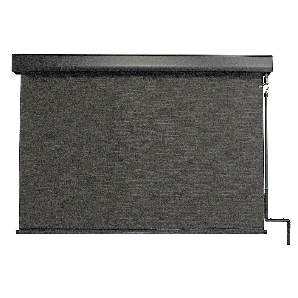 Keystone Fabrics Premium Outdoor Sun Shade, Cordless, 10-Feet by 8-Feet, Kona