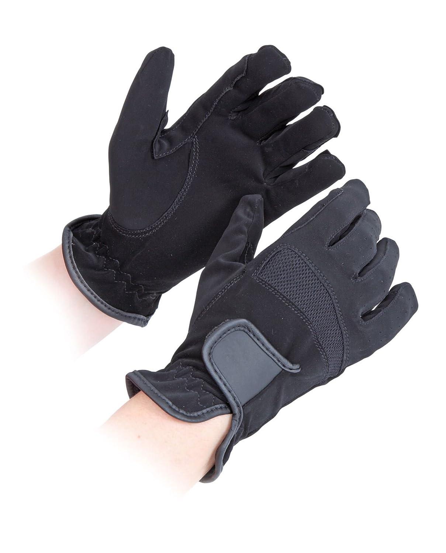 Shires Kinder bicton L//WT Wettbewerbs-Handschuhe REIT-Kleidung//-Zubeh/ör f/ür die H/ände