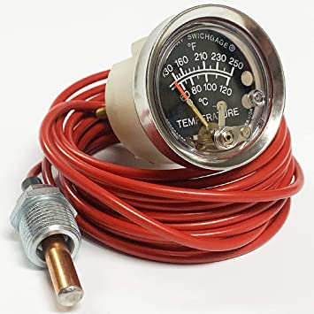 Murphy by Enovation Controls 20T-250-4-1//2 Temperature Swichgage 10702042