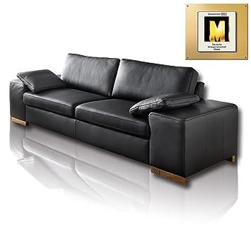 Roller Couch Intermezzo 3 Sitzer Sofa Sofa Schwarz Schwarz
