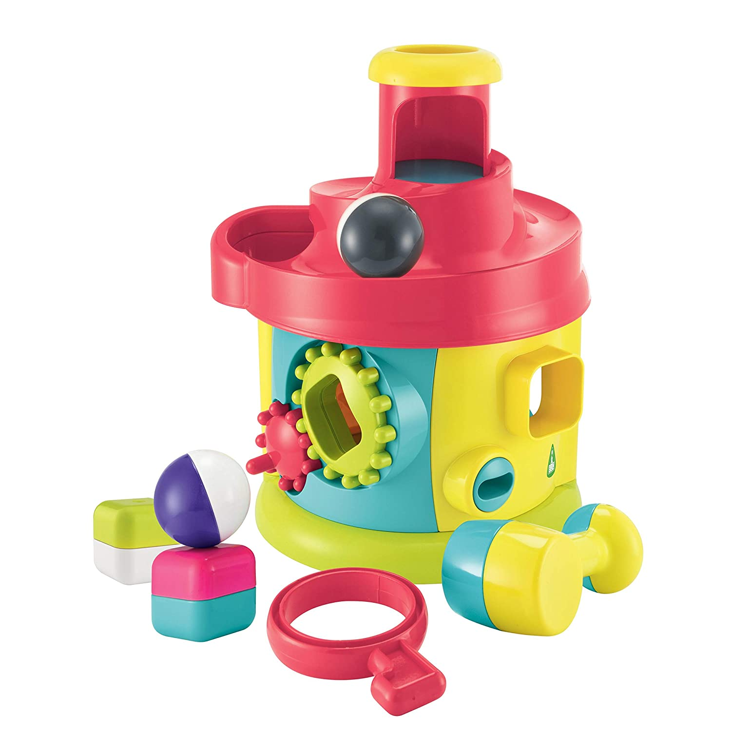 Early Learning Centre 148438 Twist And Turn House, Multicolore