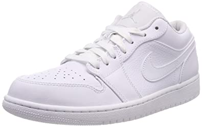 14b1acae2fa45 Nike Men s Air Jordan 1 Low Basketball Shoes  Amazon.co.uk  Shoes   Bags