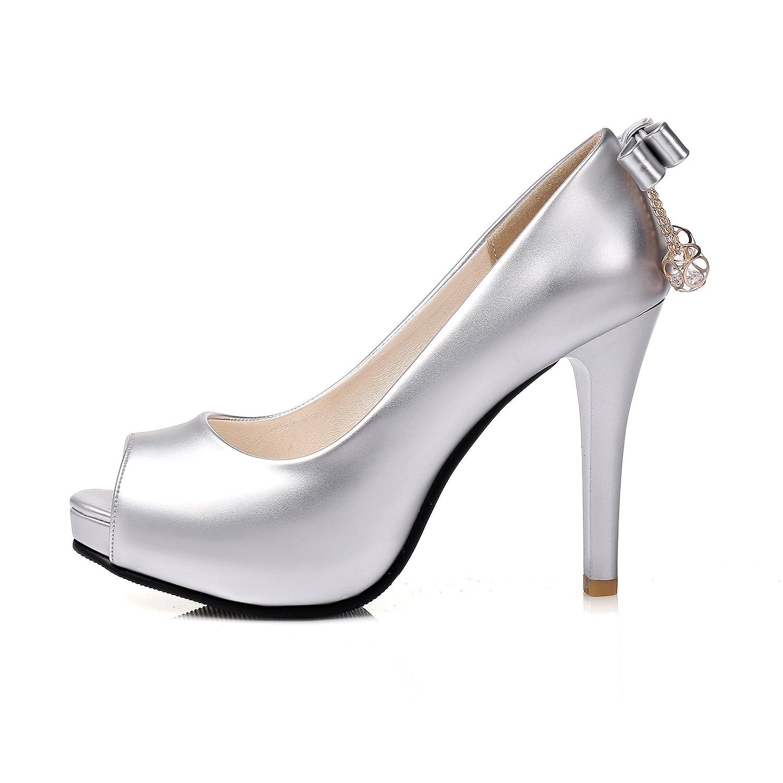 Raizel Shoes Women High Heel Fashion Chunky Heel Buckle Open Toe Sandals Slingback Dress Pumps Sandals