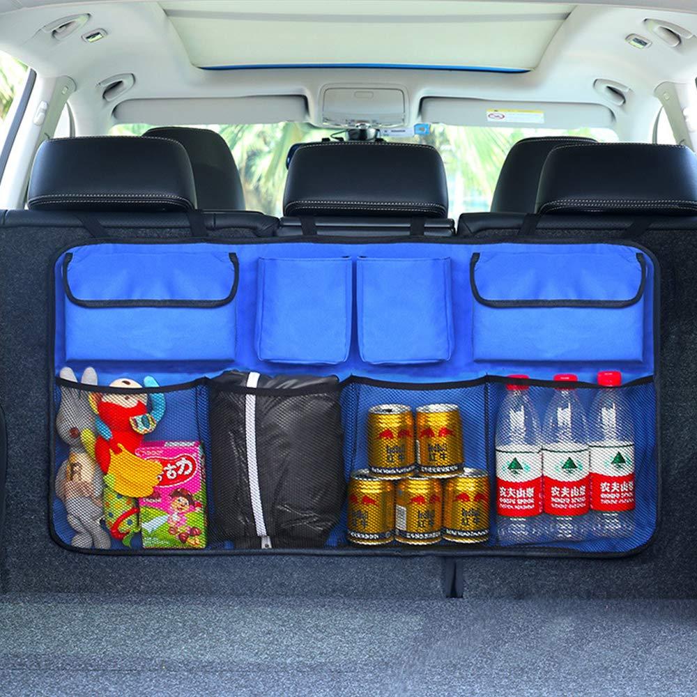 Leaftree Auto Storage Seat Storage Stockage pour Voiture Universel Multifonctionnel 3 Couleurs Stockage pour siège de Voiture Multi-Poches