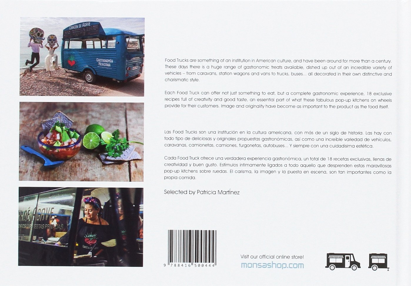 Food Trucks Delights on Wheels (English and Spanish Edition): Martinez. Patricia: 9788416500444: Amazon.com: Books