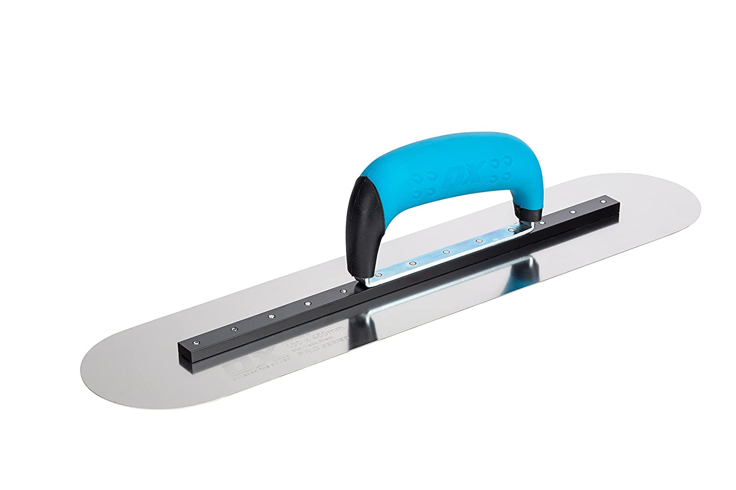 OX Pro 110 x 450mm S//S Pool Trowel Rigid