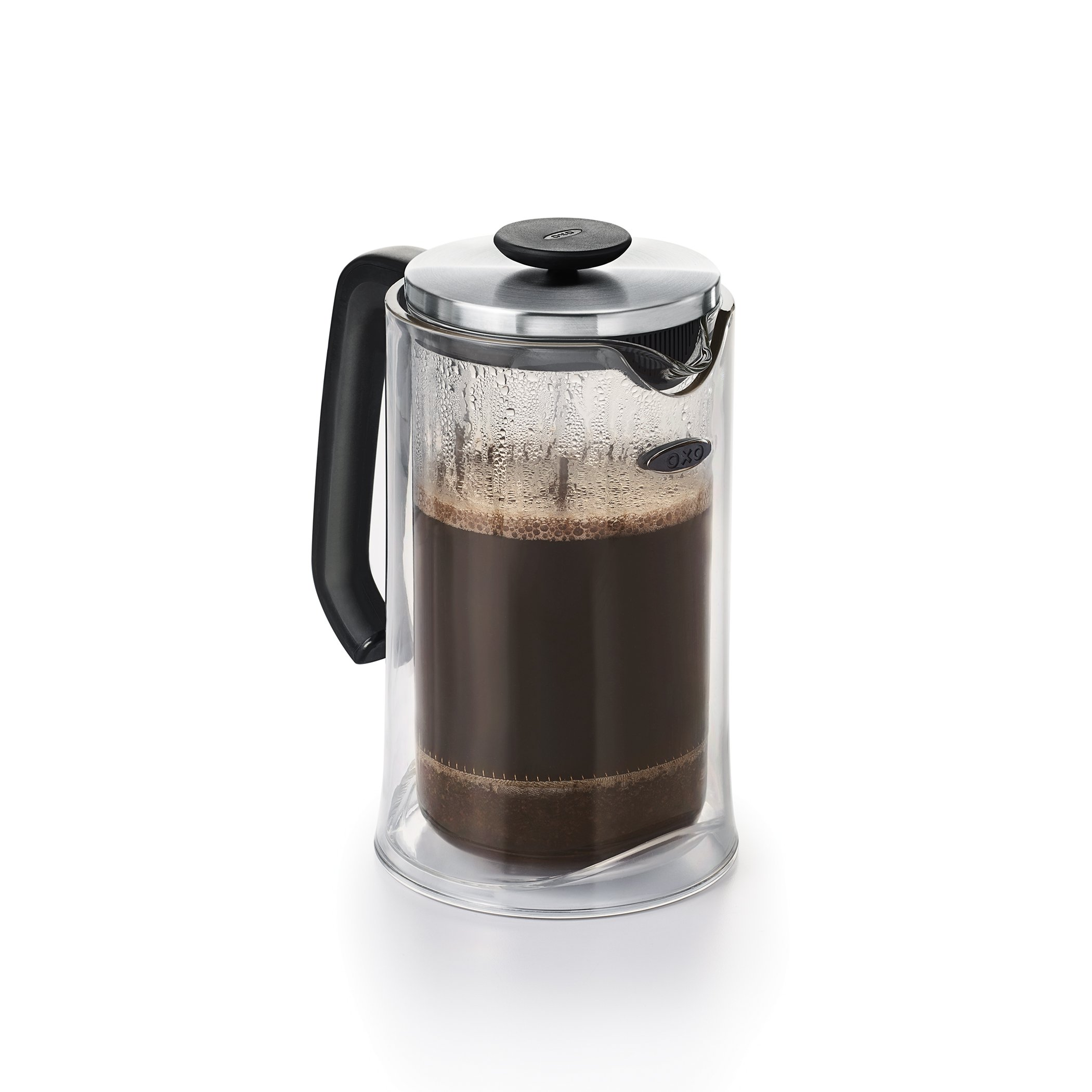 OXO Good Grips Sugar Dispenser with Impact Double Wall French Press Bundle by OXO (Image #2)