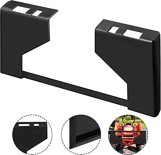 """3//8/"""" thick Skid Steer Mount Plate Adapter Loader Quick Tach Attachment"""