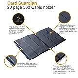 Card Guardian - 9 Pocket Black Trading Card Album