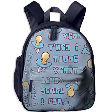 I Can t Adult Today Cartoon 3D Print Girls Colorful School Bags Lightweight  Backpack School ed26fbbb6e