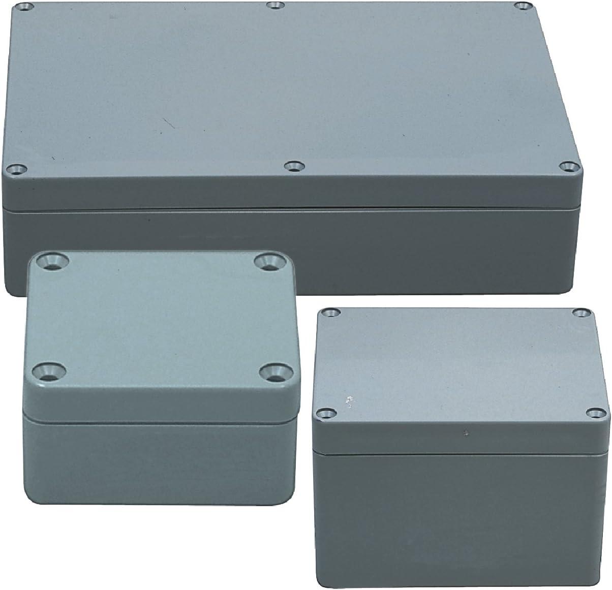 Wasserdichte staubdichte Anschlussdose 9 x 5,9 x 3,3 Zoll IP65 ABS-Kunststoff-Anschlussdose Universal-Schaltk/ästen Projektgeh/äuse Grau 230 x 150 x 85 mm