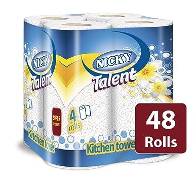 48 Rolls Nicky Talent Kitchen Roll
