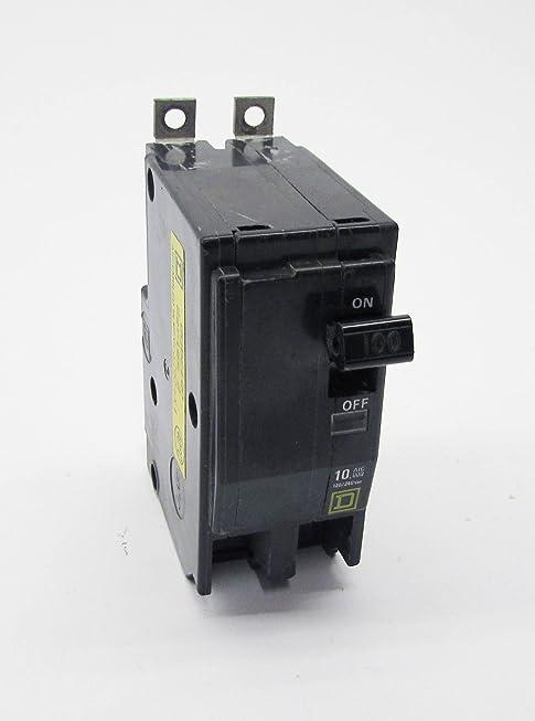 QOB2100 SQUARE D 100 AMP, 2 POLE, QOB BOLT-IN, CIRCUIT BREAKER, 120/240VAC 10K, 2P, 100A