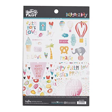amazon com illustrated faith clear designer sheets carnival