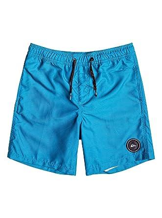 a0ebde1ca3 Quiksilver Big Boys' Everyday Volley Youth 15 Boardshort Swim Trunk, f jord  Blue,