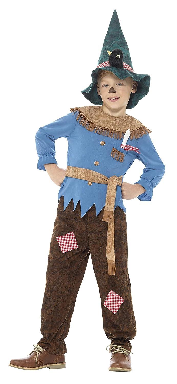 Smiffys Disfraz de espantapájaros con retales de Color marrón con Parte de Arriba, Panta: Amazon.es: Juguetes y juegos