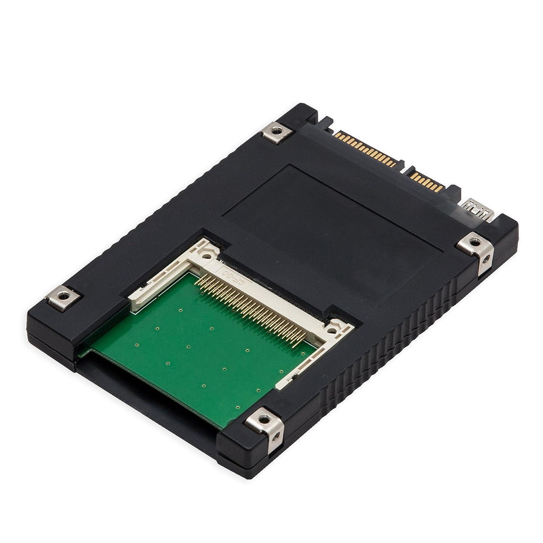 Amazon.com: syba dual interface compact flash to sata ii or usb ...