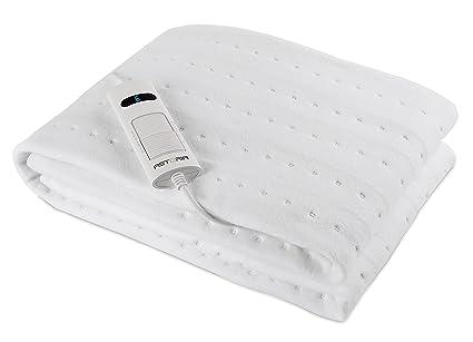 Astoria AD150A Calentador de cama eléctrico 60W Blanco Tela - Manta eléctrica (1500 mm,